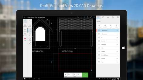 AutoCAD mobile - DWG Viewer, Editor & CAD Drawing Tools Screenshots 1
