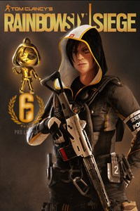Carátula del juego Tom Clancy's Rainbow Six Siege : Pro League Hibana Set