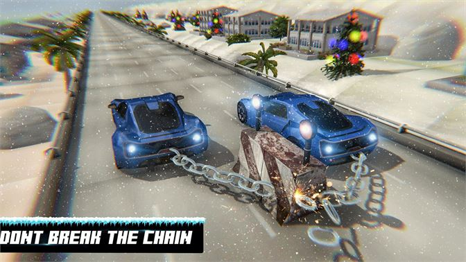 Get New Xmas Chained Cars Impossible Ramp Stunts 3d 2019 - Microsoft