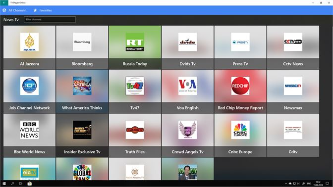 Mua TV Player Online Pro: Live Tv, Movies and Sports - Microsoft Store vi-VN