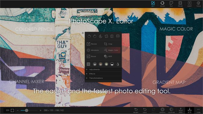 PhotoScape X screenshot