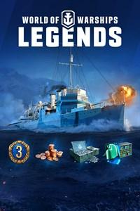 World of Warships: Leyendas, paquete de Navy Warrior