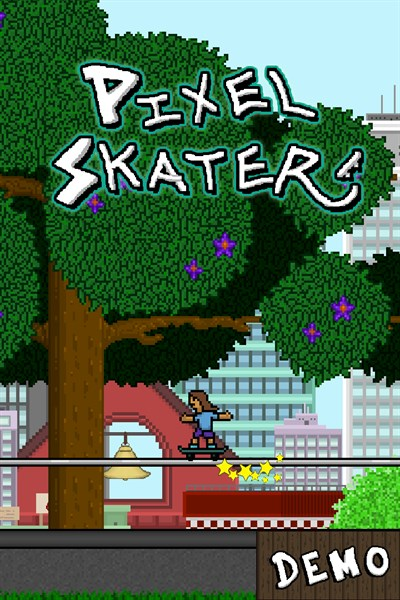 Pixel Skater Demo