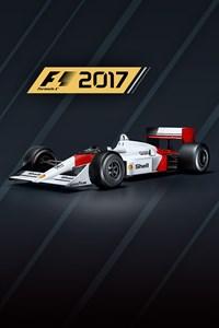 Carátula del juego F1 2017