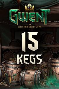 GWENT – 15x Card Kegs