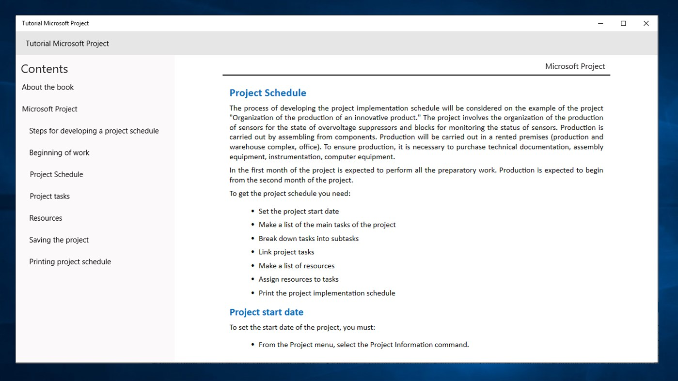 Tutorial Microsoft Project For Beginners Windows Apps Appagg