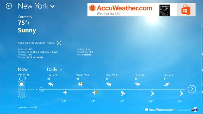 Get AccuWeather for Dell - Microsoft Store