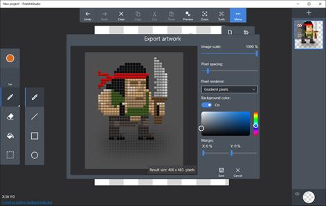 surface pro 3 pixel art