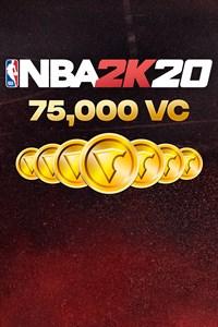 Carátula para el juego 75,000 VC (NBA 2K20) de Xbox 360