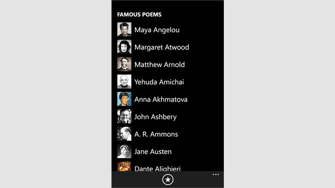 Get Famous Poems - Microsoft Store