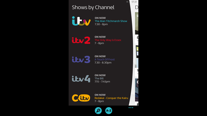 Itv Updates Their Player App With Quot Miscellaneous Bug Fixes