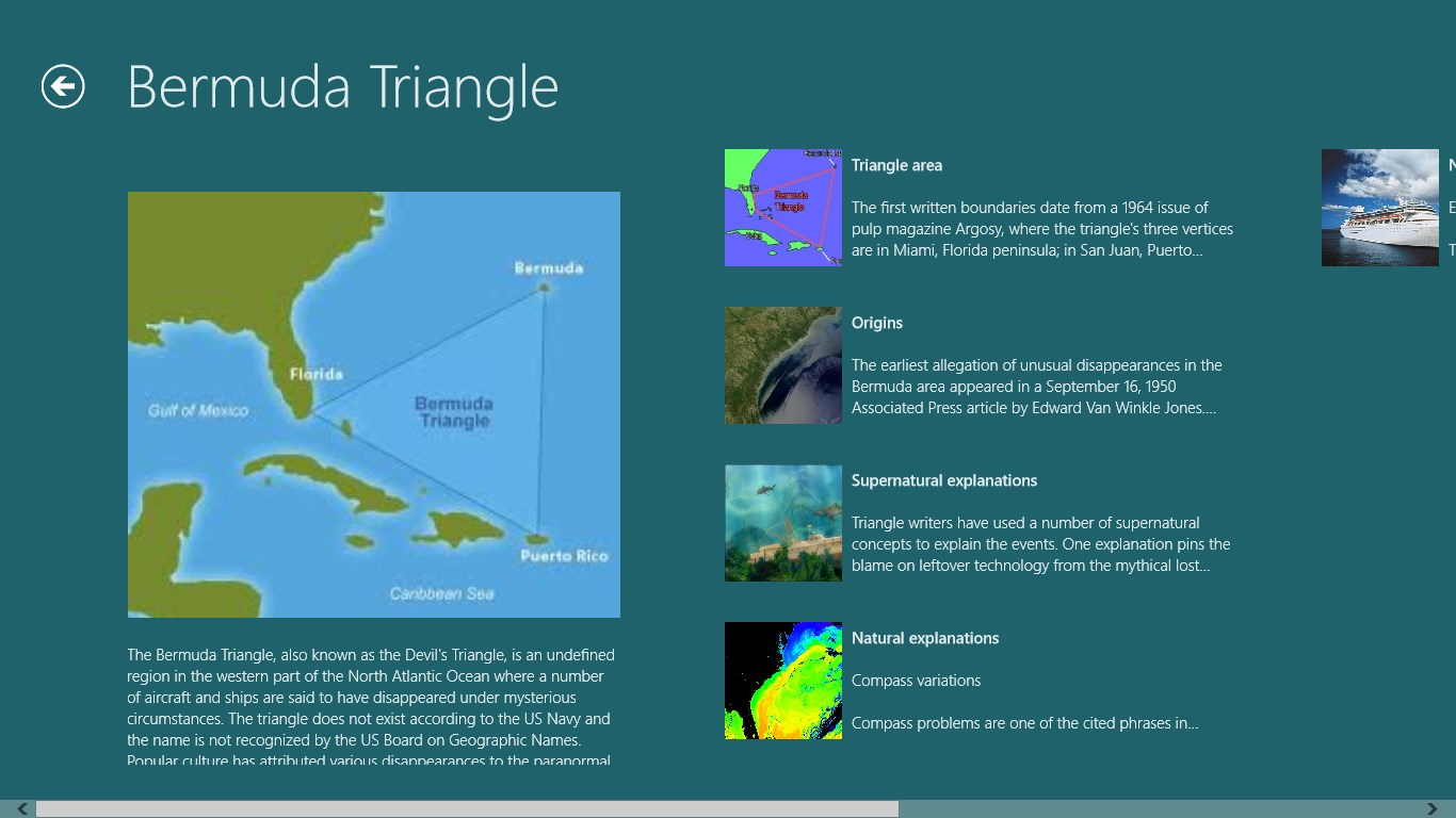 an analysis of the disappearances of the bermuda triangle Dubbed the bermuda triangle, this area has been linked to a number of mysterious disappearances dating back to 1945, when a squadron of five us navy aircraft on a training mission vanished.