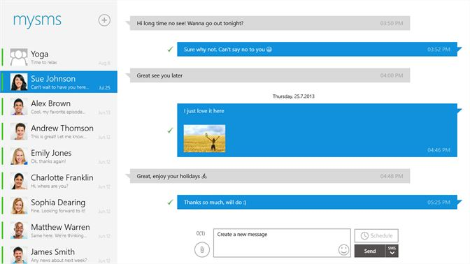 Get mysms - Text from Computer, Messaging - Microsoft Store