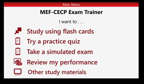 Comprar mef cecp exam trainer blueprint c microsoft store es do captura de pantalla malvernweather Image collections