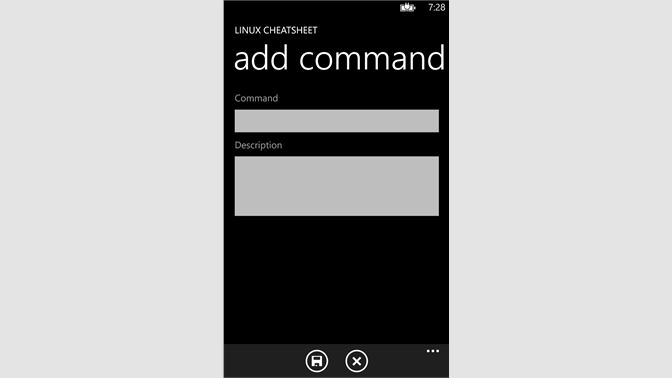 Get Linux Cheatsheet - Microsoft Store