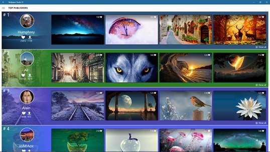 Wallpaper Studio 10 screenshot 5