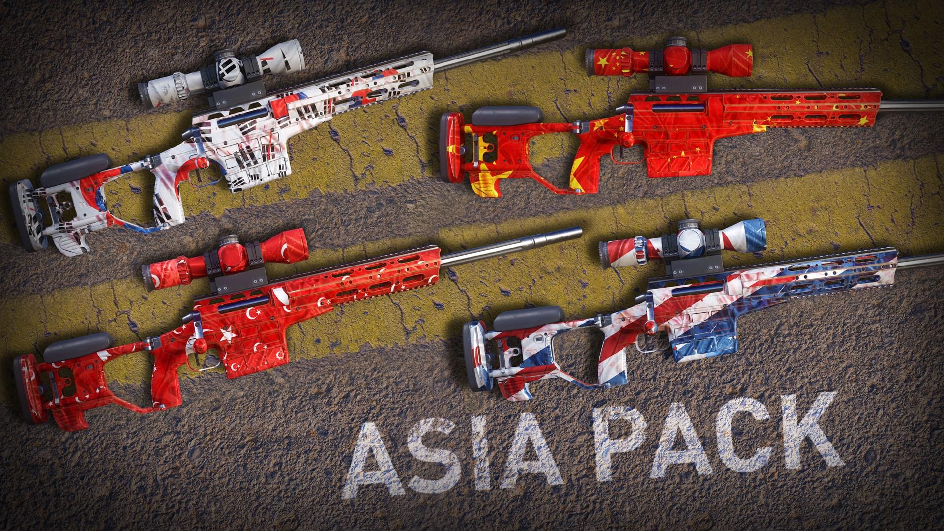 ASIA Skin Pack