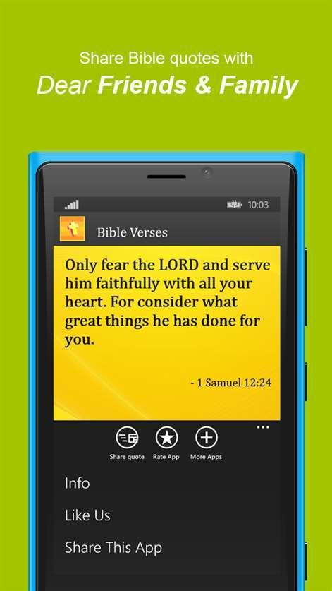 Bible Quotes Daily Screenshots 2