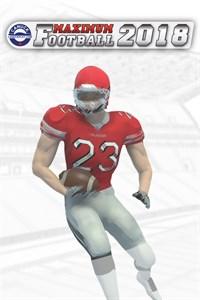 Carátula para el juego Maximum Football 2018 de Xbox 360