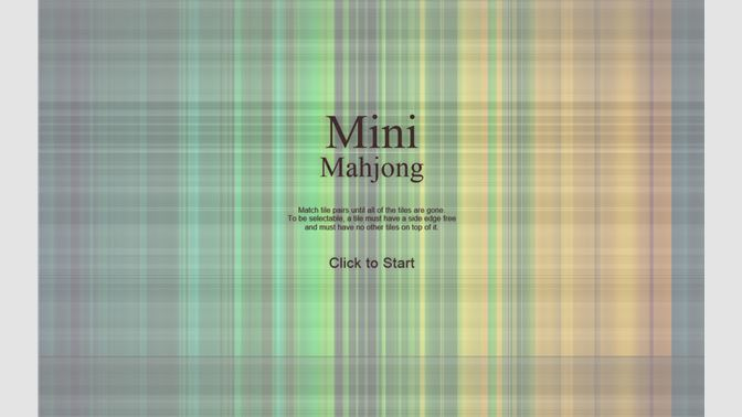 Get Mini Mahjong - Microsoft Store