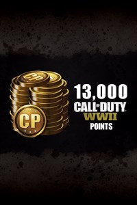 13,000 Call of Duty®: WWII Points