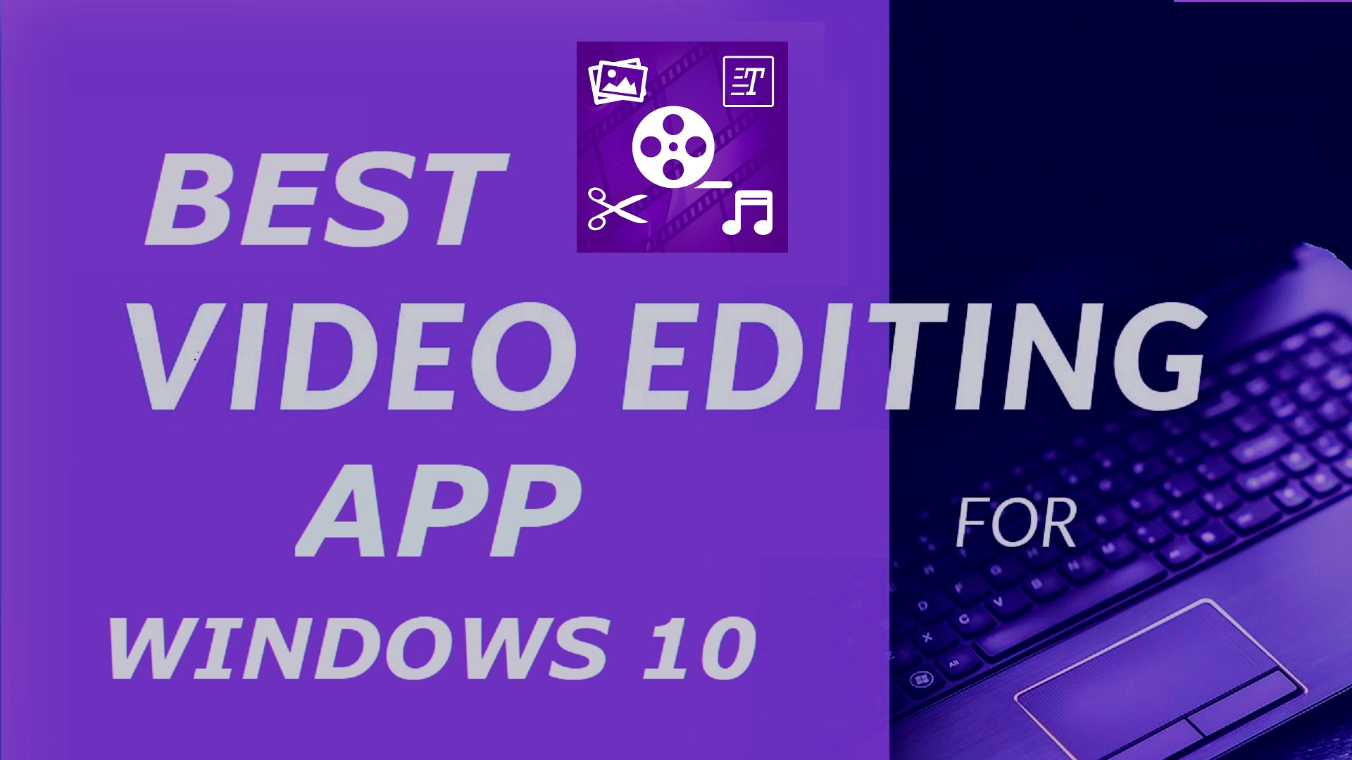 video editor applications for windows