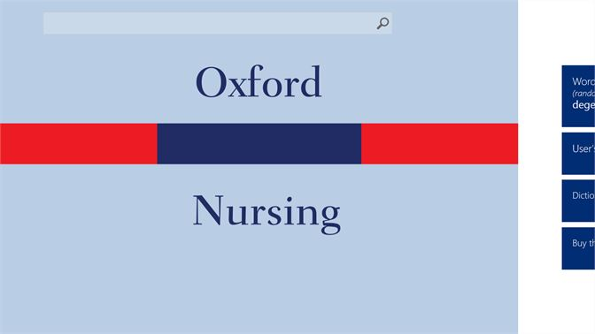 Buy Oxford Dictionary of Nursing - Microsoft Store