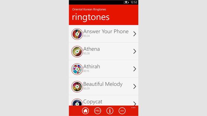 Get Oriental Korean Ringtones - Microsoft Store