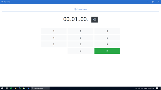 Clocker Timer screenshot 1