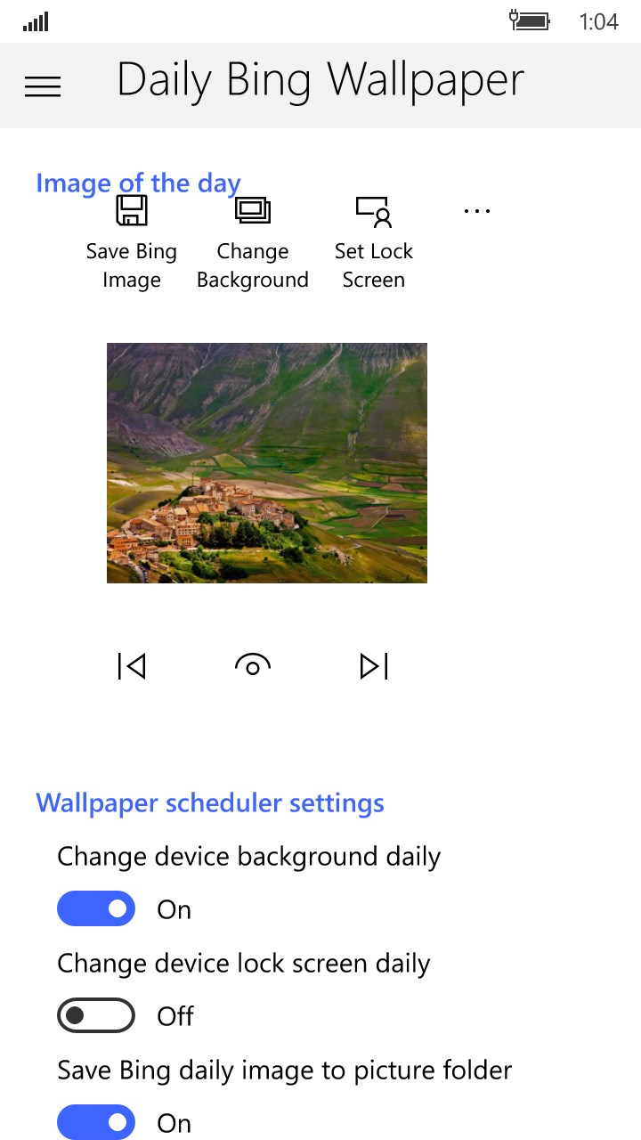 Daily Bing Wallpaper