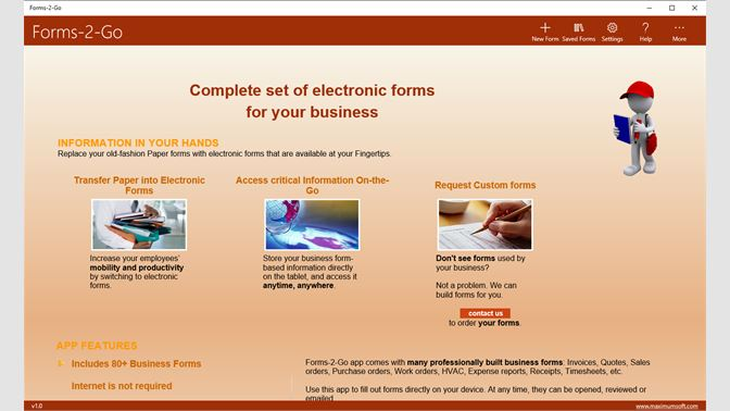 forms 2 go を入手 microsoft store ja jp
