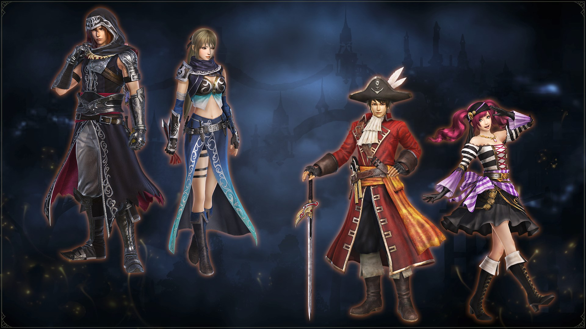WARRIORS OROCHI 4: Special Costumes Pack