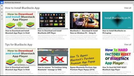 Bluestacks : Advanced User Guide Screenshots 1