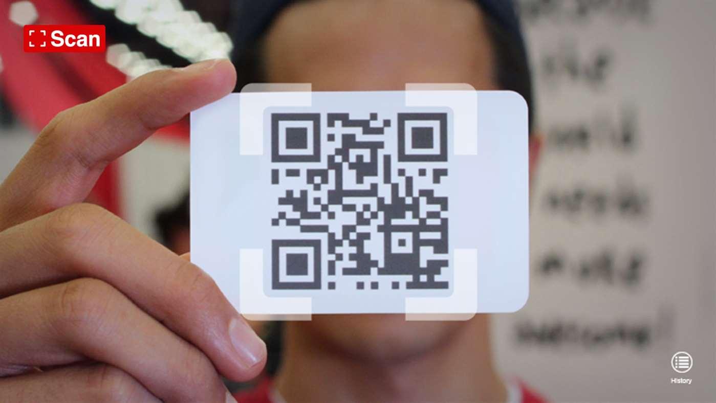 Scan - QR Code and Barcode Reader full screenshot