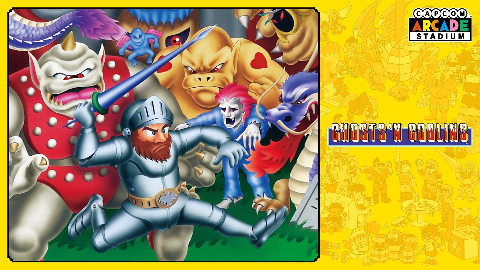 Capcom Arcade Stadium:Ghosts 'n Goblins