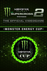 Carátula del juego Monster Energy Supercross 2 - Monster Energy Cup