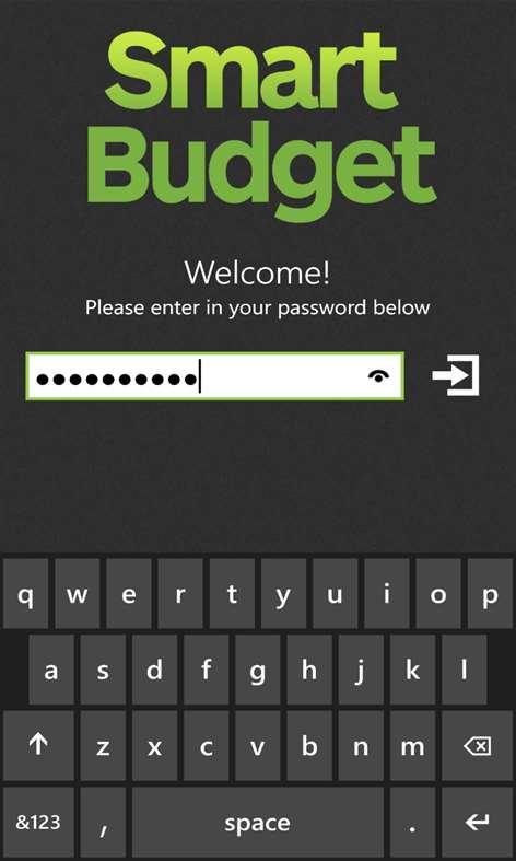 Smart Budget Screenshots 1