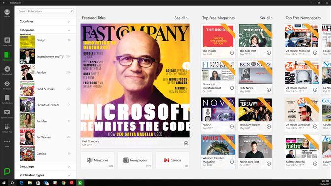 bfb79483f5eb Get PressReader - Microsoft Store en-CA