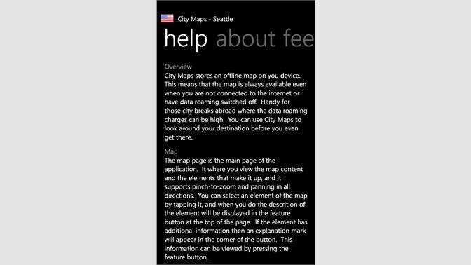 Buy City Maps - Seattle - Microsoft Store