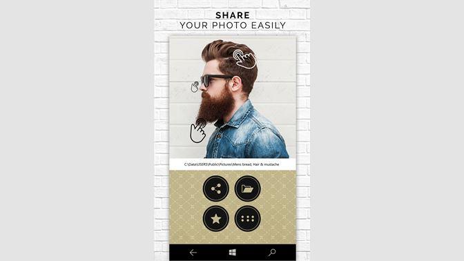 Get Man Hair Mustache Beard Style - Microsoft Store