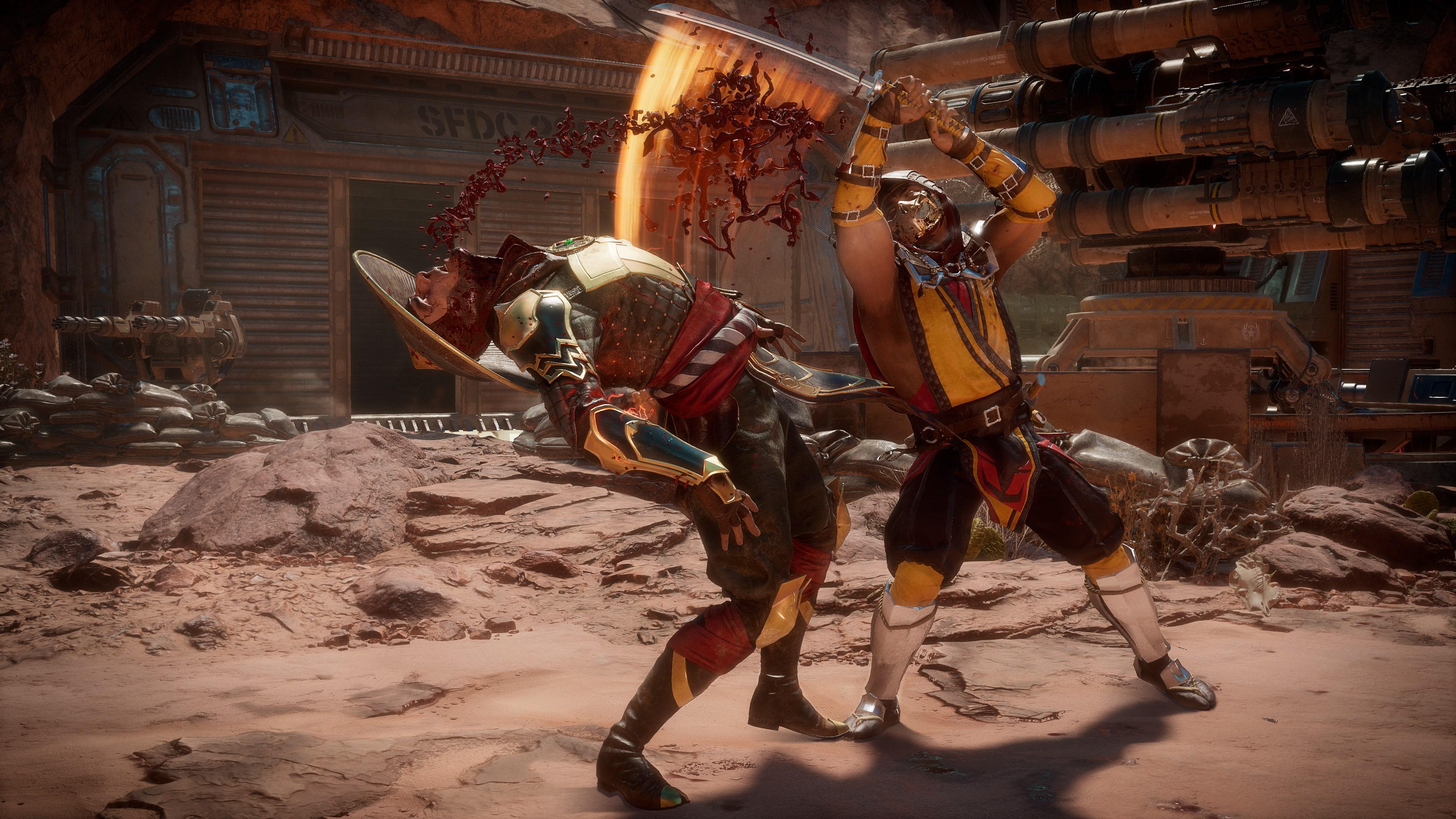 Скриншот №15 к Mortal Kombat 11