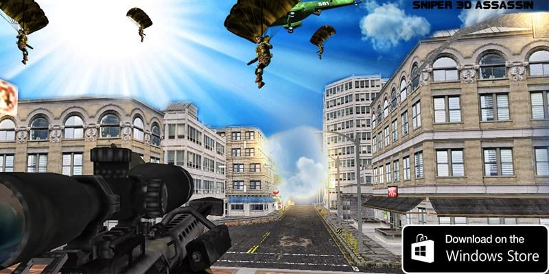 Get Sniper 3D Assassin - Microsoft Store