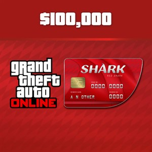 Red Shark Cash Card Xbox One