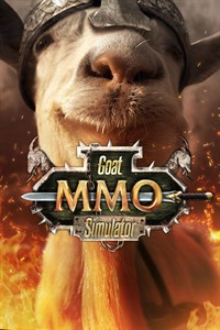 Carátula para el juego Goat MMO Simulator de Xbox 360