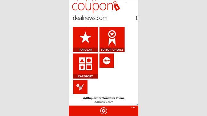 get coupon microsoft store