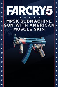 Far Cry®5 - MP5k submachine gun with American Muscle Skin