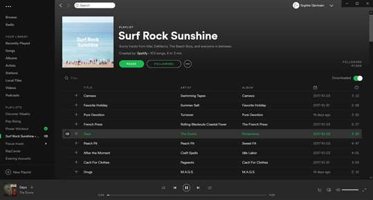 Spotify Music screenshot 4