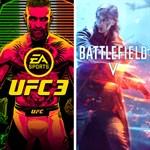 BATTLEFIELD V and EA SPORTS™ UFC® 3 Bundle Logo