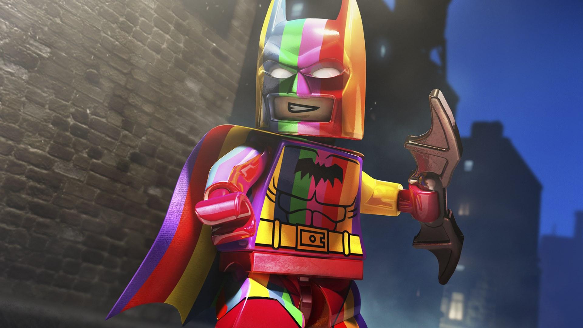 Rainbow Batman Pack