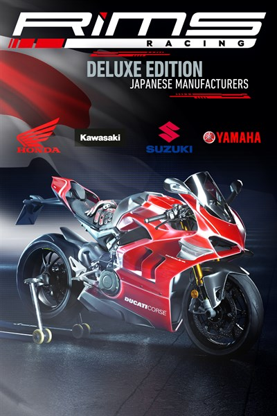 RiMS Racing - Japanese Manufacturers Deluxe Pre-order Edition Xbox Series X|S